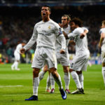 during the UEFA Champions League quarter final second leg match between Real Madrid CF and VfL Wolfsburg at Estadio Santiago Bernabeu on April 12, 2016 in Madrid, Spain.